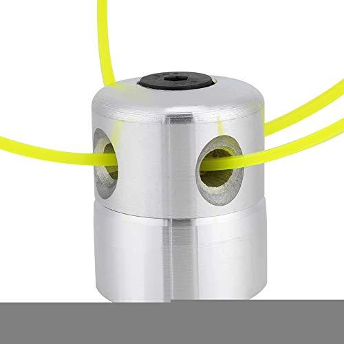 Trimmer Head, Solid Duurzaam Metaal Materiaal met Kleine Vibratie Match Machine voor Grasmaaier Tuin Patio Grasborstel Snijder