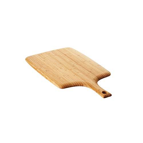 A'Domo PV-BAM-1150 Point-Virgule Planche à découper en bambou avec poignée Marron 58 x 28 x 1,9 cm