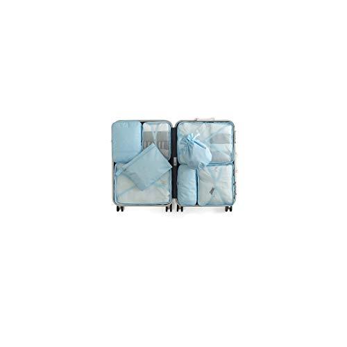 Sac de rangement de Voyage mis de Bagages Portable de Voyage (Color : Blue A)