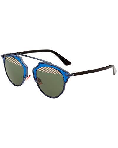Dior Damen Diorsoreal Nt Sonnenbrille, Schwarz (Blue Black Vu0), 48