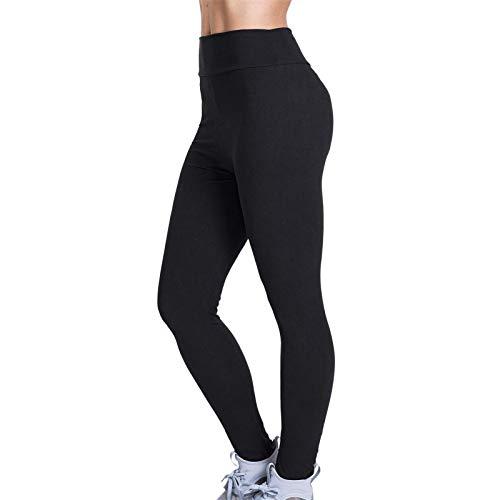 LMDGO Tik Tok Leggings Yoga-Hose für Frauen Hohe Taille Sporthose Enge Strethcy Einfarbige Leggings Running Fitness