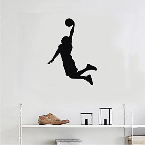 NehjKyeg Aktie Wandaufkleber Wohnzimmer Studie Kinderzimmer Hintergrund Dekoration Sport Spieler Aufkleber Tapete