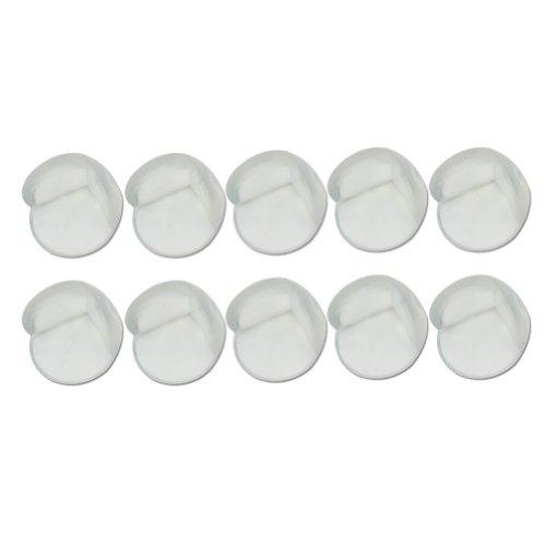 10 Pcs Sécurité Bébé Silicone Protecteur Coin Anti-Choc De Tableau Meuble Bord