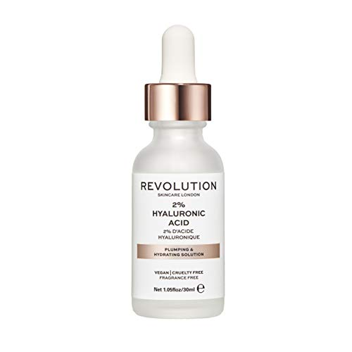 Revolution Skincare Plumping & Hydrating Solution – 2% Hyaluronic Acid