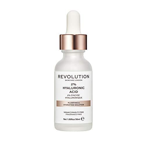 REVOLUTION BEAUTY LONDON Skincare 2 Hyaluronic Acid Plumping and Hydrating Serum, Translucent, 30ml