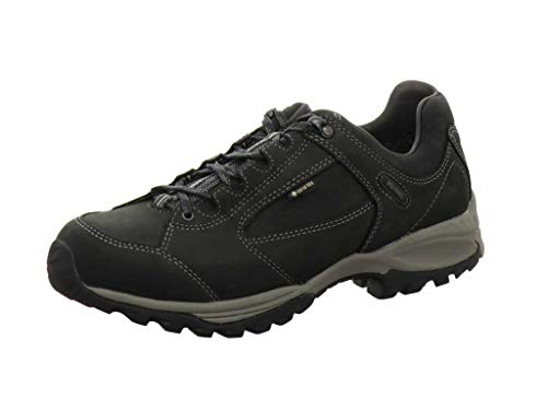 Meindl - Zapatillas para Deportes de Exterior de Piel para Hombre, Color Negro, Talla 14,0UK