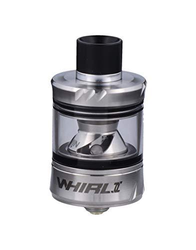 Uwell Whirl 2 Clearomizer Set für Ihre E Zigarette - 3,5ml Tankvolumen - Farbe: silber