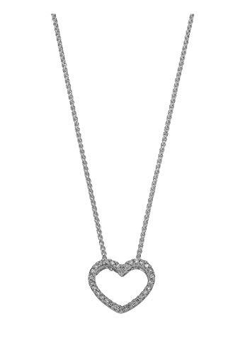 CHRIST Diamonds Damen-Kette Weißgold/gold 30 Diamant One Size Weißgold 32003330
