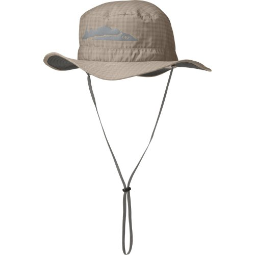 Outdoor Research Kid's Helios Sun Hat Bug Protection, 913-Sandstone, Medium