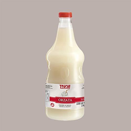 Leagel Srl 3 kg ORZATA Toschi Sirup für Granita Ice Cream Cocktail Gebäck
