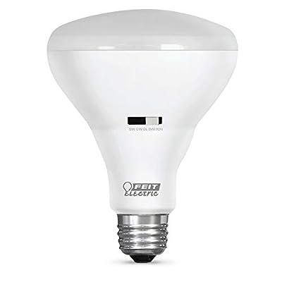 Feit Electric IntelliBulb – ColorChoice Flood Reflector LED Bulb, Light Temperature Changing (Soft White 2700K, Cool White 4000K, Daylight 5000K), 60W Equiv (BR30/CCT/LEDI)