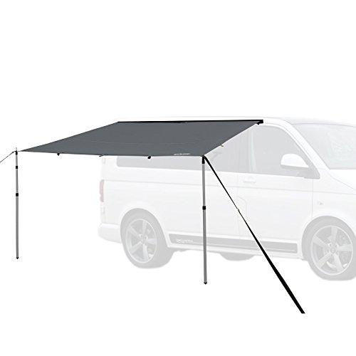 Qeedo Motor Tarp, Campingbus Sonnensegel, Camper, Wohnwagen, Sonnenschutz Campingmobil, Einfache Montage