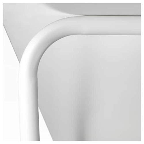 BestOnlineDeals01 BackARYD Underframe, blanco, 130x74x71 cm, duradero y fácil de cuidar. Mesas de comedor y bajos. Mesas de comedor. Muebles y ambientales.