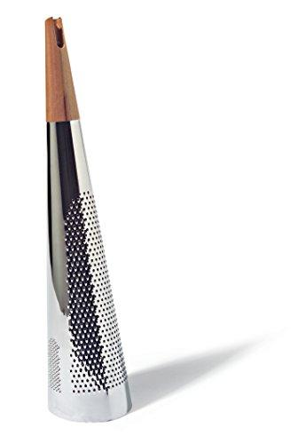 Alessi - RS08 - TODO - Râpe géante à fromage et noix de muscade en acier et bois