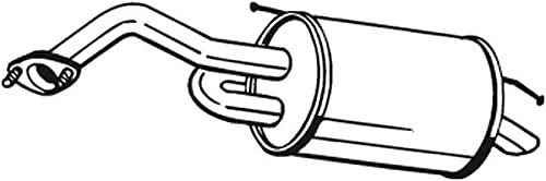 Bosal 128-001 Silencieux arrière