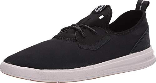 Zapatillas Volcom Draft Eco, Negro (Negro/Blanco), 39.5 EU