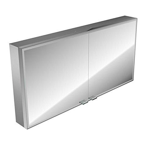 Emco asis LED-Spiegelschrank Prestige AP 1187 mm, ohne Radio, Farbwechsel