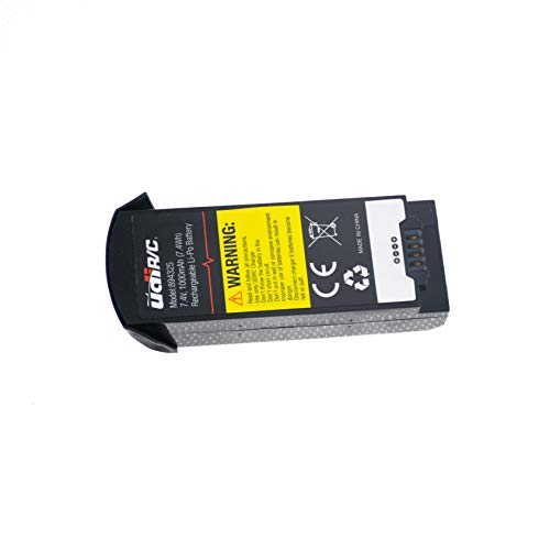 efaso Akku 7,4V 1000 mAh Li-Po im Case passend für UDI U818A Plus