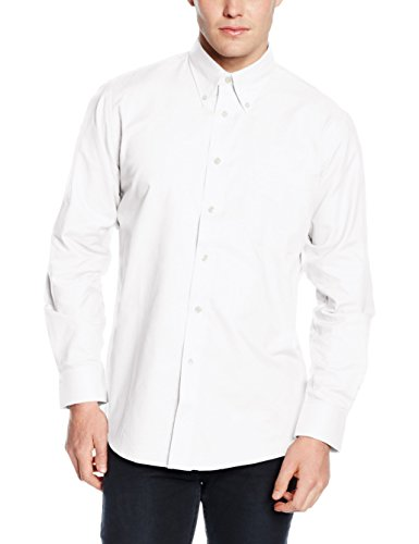 Fruit of the Loom Herren Regular Fit Freizeit-Hemd weiß weiß XX-Large