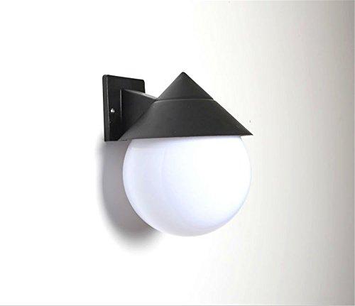 JJZHG Wandlamp Indoor Wandlamp Waterdichte en regendichte creatieve slaapkamer trap gangpad gang badkamer balkon buiten lampenkap wandlamp omvat: wandlampen, wandlamp met leeslampje