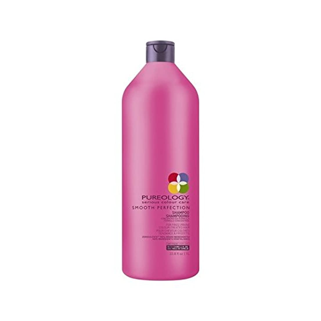 Pureology Smooth Perfection Shampoo (1000ml) - 平滑完全シャンプー(千ミリリットル) [並行輸入品]