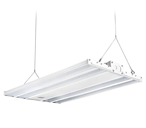 Hyperikon 2 Foot Linear LED High Bay Lights with Motion Sensor, Hanging Shop Light, UL, DLC, 165 Watts