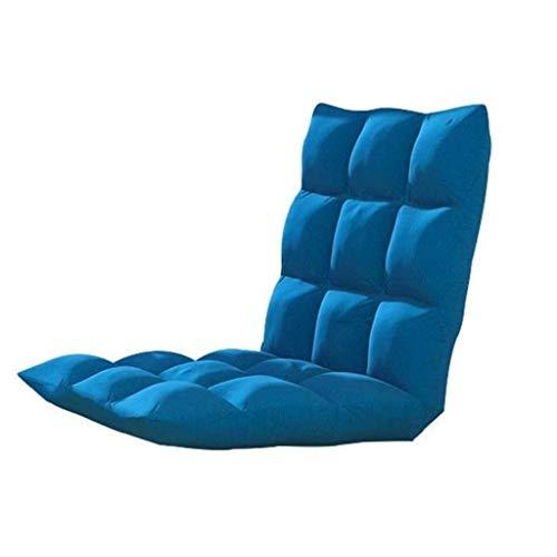 JJZXD Plegable Silla Perezosa del sofá Almohada Moderna Sofá Cama reclinable de Descanso de Piso Muebles Función Relax Interior la decoración del hogar