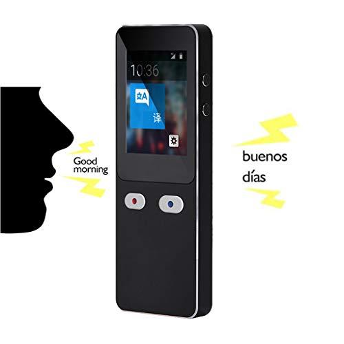 CHAOYUE Mini Traductor de Voz, Admite 44 Idiomas, Conversaciones bidireccionales, Diseño fácil de Usar, micrófono con cancelación de Ruido, para Viaje Aprendizaje