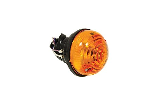 Bearmach Front amber separate lens and body type 12V Indicator Assembly Series IIA 88 Series IIA 109 Series III 88 Series III 109 90 110 Defender 90 & 110 All models from 1969 on BR 3384R RTC5013