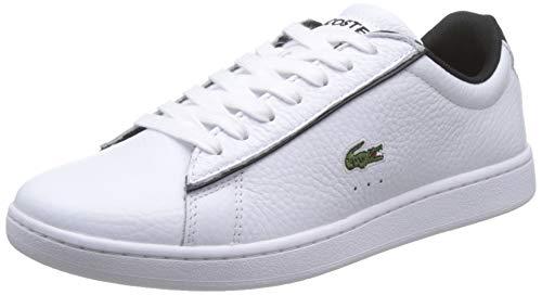 Lacoste Damen Carnaby Evo 120 2 SFA Sneaker, White/Black, 40 EU