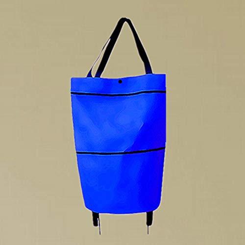 Zipvb Einkaufstaschen Klappschlepper Tasche Hersteller Supermarkt Geschenke Alter Mann Warenkorb Werbeartikel Klappschlepper Tasche Warenkorb Rad Paket