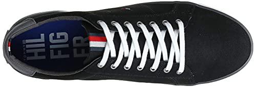 Tommy Hilfiger Herren Sneakers, Schwarz - 10
