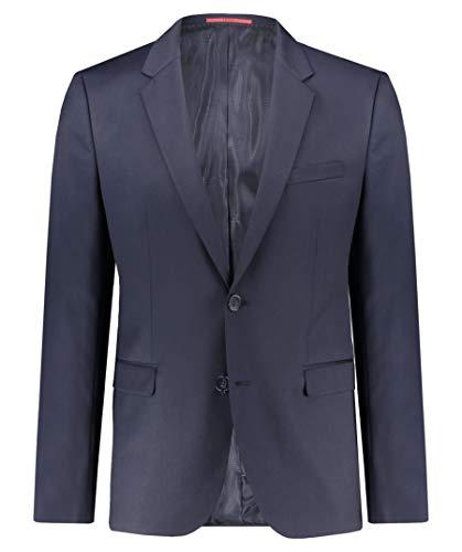 HUGO Herren Aldons Anzugjacke, Blau (Dark Blue 401), 44