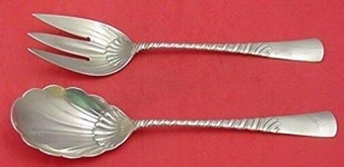 Colonial by Gorham Sterling Silver Salad Serving Set All Sterling 10 1/2'