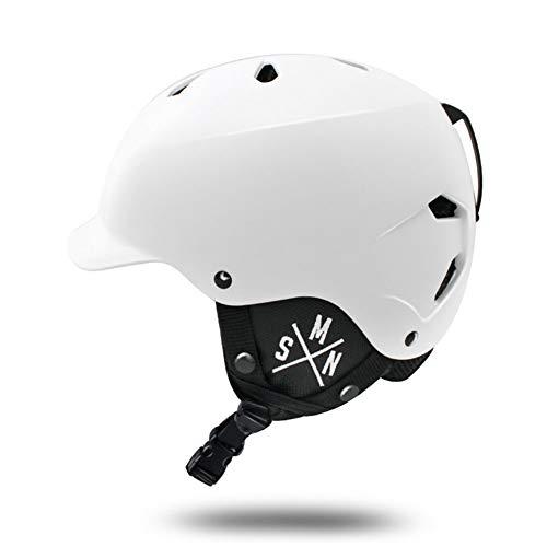 ZCPDP Pearl Skihelm en snowboardhelm voor dames, in-mould-behuizing, binnenbekleding van EPS 4D, geschikt voor kinderen en volwassenen, skaten