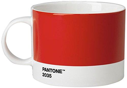 PANTONE 101052035 Tasse à thé Céramique Rouge 2035 C 14 x 10,60 x 8,60 cm