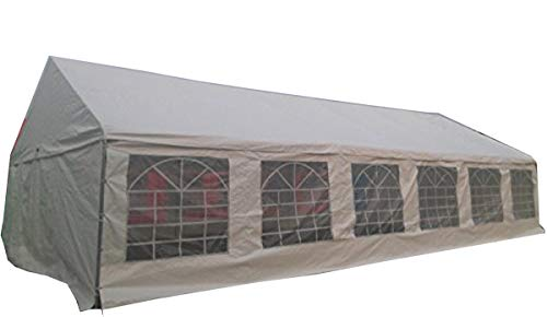 Shade Tree 20' x 40' Heavy Duty Event, Party, Wedding Tent, Canopy, Carport, w/Sidewalls
