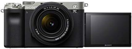 Sony I Sony Alpha 7C + 28-60mm f4-5.6 Lens Kit| Full-Frame Aynasız Fotoğraf Makinesi (Ekstra küçük boyut, 24.2Mp...