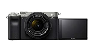 Sony Alpha 7 C   Full-frame Mirrorless Interchangeable Lens Camera with Sony FE 28-60mm F4-5.6 Zoom Lens (Compact and Lightweight, Real-time Autofocus, 24.2 Megapixels, 5-Axis Stabilisation) - Silver (B08J2K9VS7)   Amazon price tracker / tracking, Amazon price history charts, Amazon price watches, Amazon price drop alerts