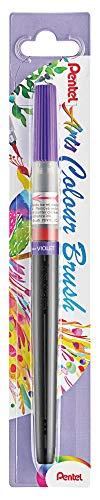 Pentel XGFL-166X Pincel de acuarela, Color Morado Azulado, variabel