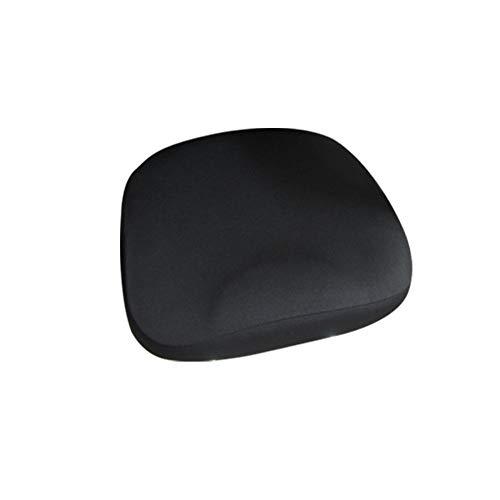 Basisago - Coprisedia elasticizzato, moderno, universale, allungabile, molto facile da pulire e durevole, per uso in casa, ufficio, bar Nero