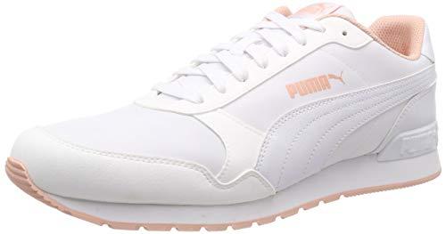 Puma Unisex-Erwachsene St Runner V2 Nl Fitnessschuhe, Weiß (Puma White-Peach Bud 17), 39 EU