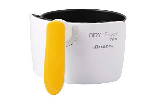 Ariete Airy Fryer Mini 4615 Bol avec poignée jaune.