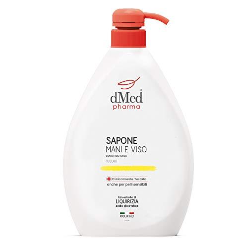 Dmed Pharma Sapone Mani E Viso - Delicato, Deterge E Igienizza Anche Le Pelli Sensibili - 1000 Ml