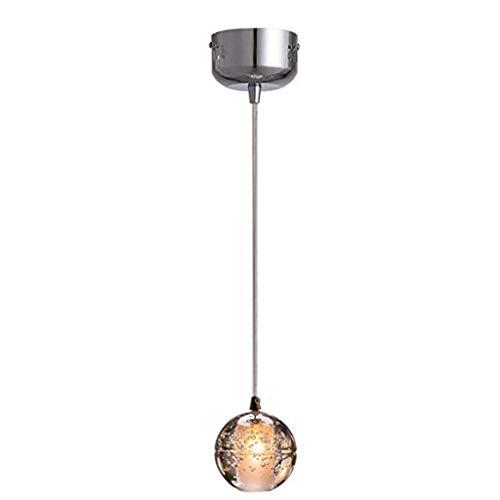 HDDD kroonluchter van kristal, creatief, glazen bol, kroonluchter voor plafondlijst voor slaapkamer, eetkamer, woonkamer in Europese stijl