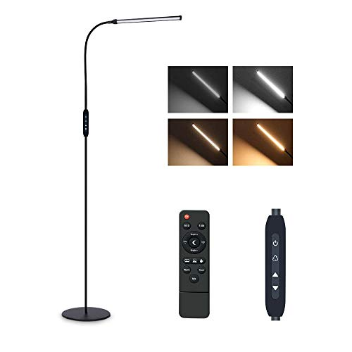 Floor Lamps for Living Room, 9W Dimmable Flexible Gooseneck...