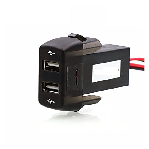 ZIMEI MEIKAI Doble USB Cargador De Coche 5V 2.1A / 2.1A Doble USB Toma De Corriente para El Uso del Teléfono Inteligente Adecuado para Scania Serie R P G