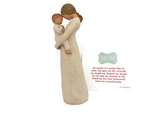 Willow Tree Figur Tenderness–Beste Geburtstag, Besonderen Anlass Geschenk für Mama/Mütter