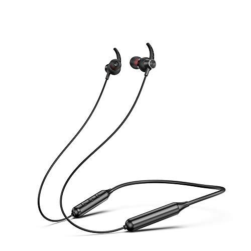 【2021最新版】 Bluetooth イヤホン スポーツ ワイヤレス イヤホン ランニング用 マグネット搭載 AAC対応 Siri対応 ハンズフリー通話 ブルートゥース イヤホン iPhone/iPod/Android対応