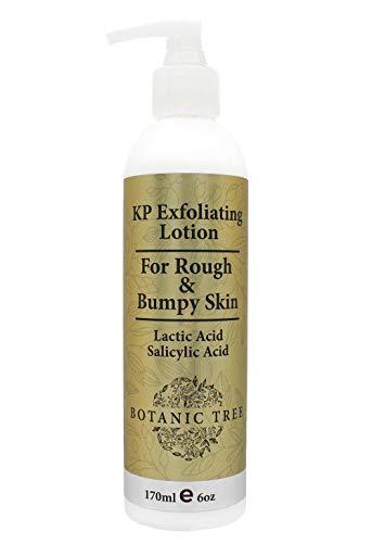 Botanic Tree KP Body Lotion W/ AHA -Keratosis Pilaris Treatment Body Lotion with Salicylic Acid, Lactic Acid -Exfoliating KP Peel Skin Care Lotions for Acne,Rough & Bumpy Skin- Fragrance Free.